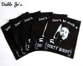 Annie Wilkes Misery Dirty Birdy sew on patch, Horror, Stephen King