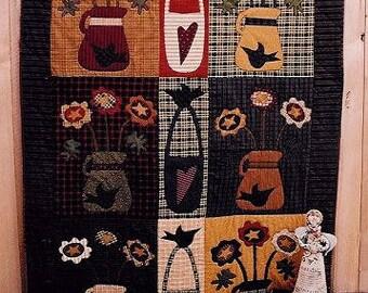 Crow Flowers Quilt Kit & Pattern