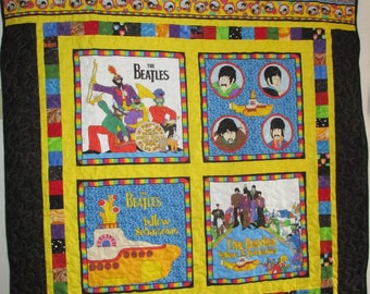 The Beatles Yellow Submarine Wallhanging