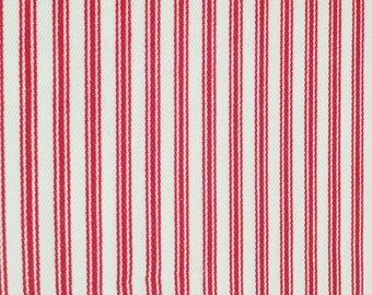 """Woven Ticking Fabric - 54"""" wide - by the yard"""