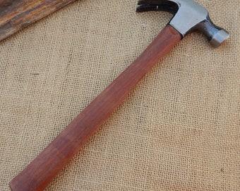 7 oz Drop Forged Claw Hammer  ~  Carpenter's 7 oz Claw Hammer  ~  Drop Forged 7 oz Brasil Claw Hammer