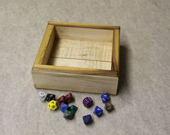 Dice tray (wooden)