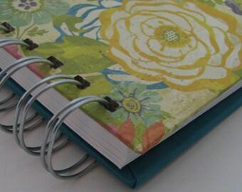 Envelope System Wallet - Envelope Budget - Cash Envelope Wallet - Envelope System - Budget Wallet - Cash Budget Envelope - Floral Turquoise