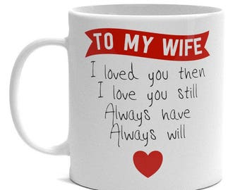 Special Wife Gift Mug - To My Wife