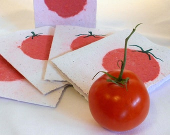 Hand Made Recycled Paper  Handmade Card Sets PM-TOM#5