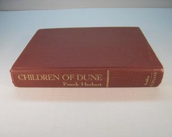 Children of Dune (Book #3 Dune Chronicles) Frank Herbert, 1st Edition/9th Printing, Very Good 1976 Hardcover (No DJ)