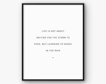 Motivational Print, Inspirational Quote, Motivational Poster, Life Quote Print, Motivation Quote, Printable Quote, Inspiration Poster