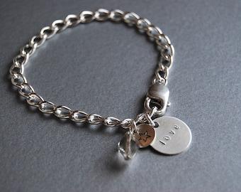 Inspiration Charm bracelet