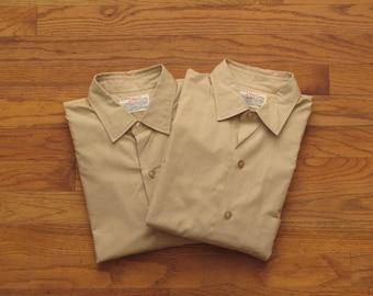 mens vintage US Army shirt