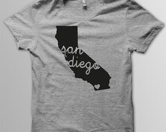 Custom CALIFORNIA Hometown Tri blend Tshirt