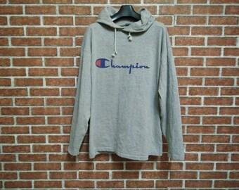 90s Souvenir Graphic Sweatshirt / Heather Gray / Spring Break / Sizzling Summer / Hot Dog / Cool Topman Pullover / Hipster / Jumper kRU6A0e