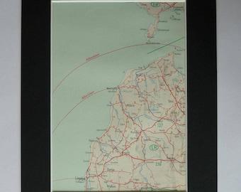Latvia old maps Etsy