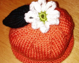 Clementine Baby Hat - Custom Knit