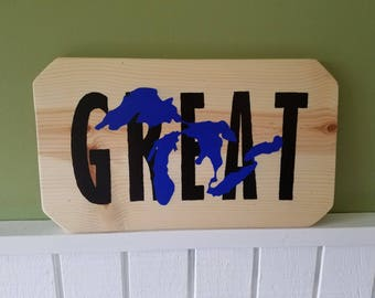 Great Lakes Sign