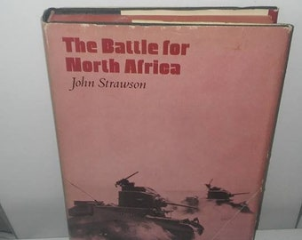 The battle for North America by John Strawson 1969 charles scribners sons