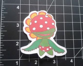 Super Mario Bros Sticker-Petey Piranha