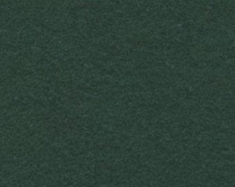 "1 Yard Hunter Green Polyester Felt 36""x36"""