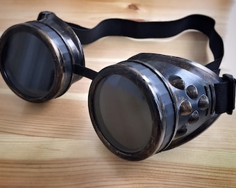 Imperator Furiosa Goggles Cosplay Mad Max Fury Road Steampunk Dieselpunk Burner costume