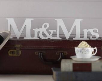 Mr and Mrs, Mrs and Mrs and Mr and Mr Wooden Sign - Vintage Affair