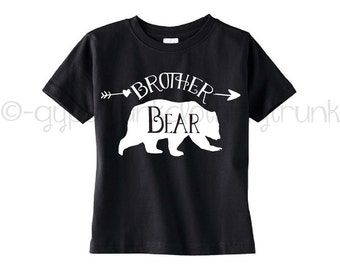 Brother Bear Shirt - Brother Outfit - Family Outfits - Bear Family Outfits - Bear Shirt - Gifts for Boys - Big Brother Shirt -