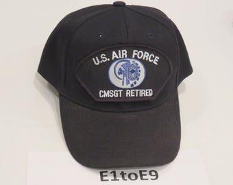 U.S. Air Force CMSGT Retired Cap