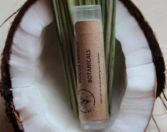 Natural Coconut Lemongrass Lip Balm