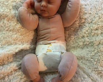 1/4 limb Cloth body Silicone baby Girl