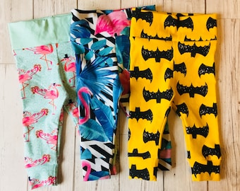 Cool baby leggings, trousers, pants 0-3 months