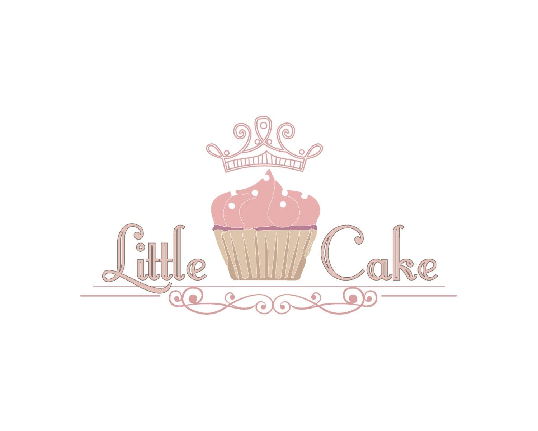 DIGITAL Custom Logo Design Cake Bakery Sweets