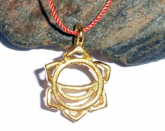 Sacral Chakra Vermeil Necklace earthegy #2291