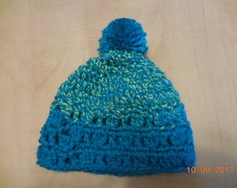 Crocheted newborn baby hat, baby hat, crocheted baby hat