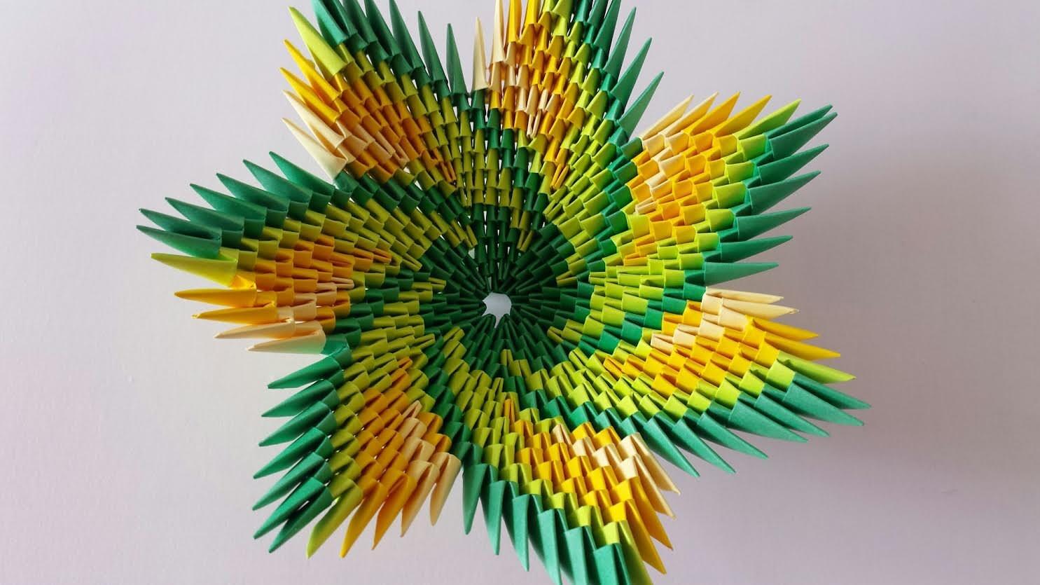 Origami spiral bowl multicolor zoom jeuxipadfo Images