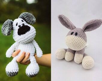 Amigurumi Anleitung Hund : Labrador puppy amigurumi pattern dog crochet pattern golden