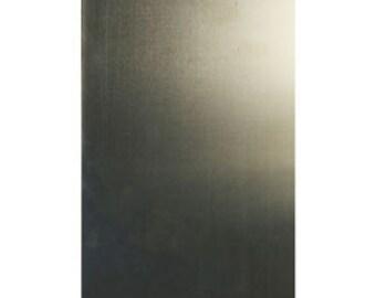 "Nickel Silver Sheet 26ga 6"" x 3"" 0.41mm Thick"