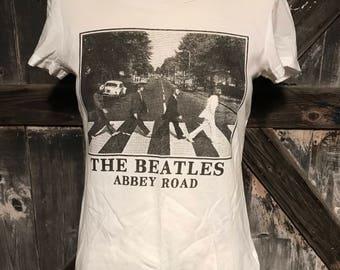 The Beatles Abbey Road Tee Shirt Sz M