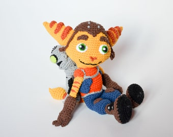 Crochet PATTERN - Ratchet and Clank inspired pattern by Krawka