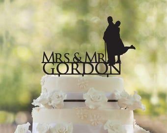 Custom Wedding cake topper- Wedding Cake Topper- Customizable Wedding Cake Topper- wedding cake topper-Wedding Cake Topper
