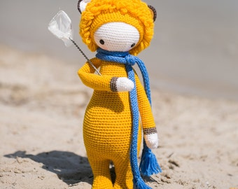 Loni The Lion inspired by Lalylala / Crochet Doll / Handmade Amigurumi / Amigurumi animal
