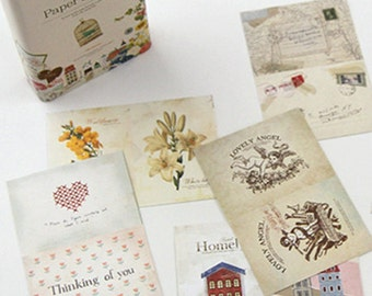 Stick & Sewing Paper Stickers - 108 sheets (1.6 x 2.4in)