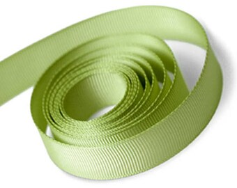 Moss Green Grosgrain Ribbon