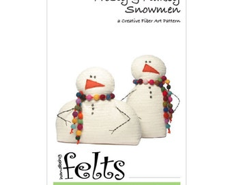 Frosty & Flakey - A Creative Fiber Art Pattern