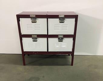 2X2  Metal Basket Locker