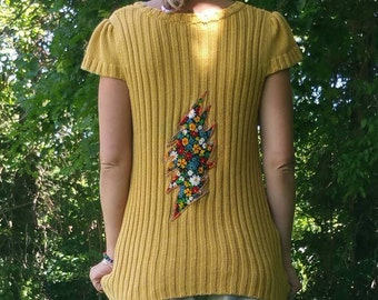 Follow the Yellow DeadHead Sweater