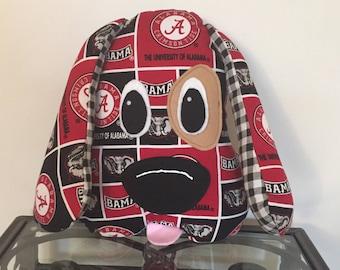 Alabama Crimson Tide Handmade Stuffed Dog