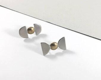 Reversed Shapes Earrings
