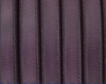 "Per 8""  Purple Licorice Leather for Licorice Leather Bracelets,"