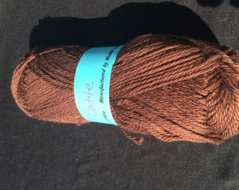 100% Cotton Sock Yarn in Latte