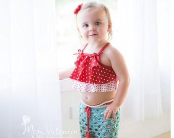INSTANT DOWNLOAD - Crochet Pants Capris Coverup Swimsuit