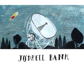 Jodrell Bank Print