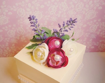 Shabby Chic/Vintage Party Favors Box